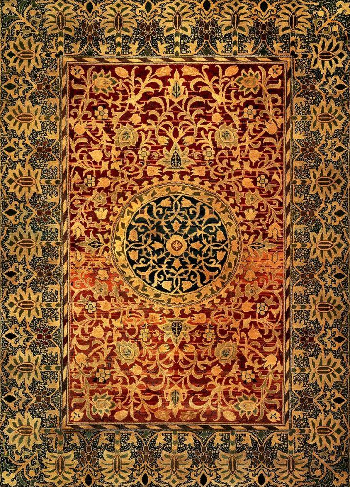 William Morris: Carpet, 1887