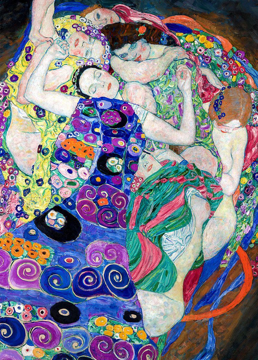 Gustav Klimt: Virgin, 1913 (detail)