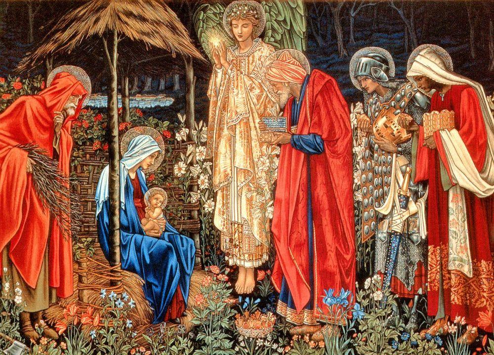 Edward Burne-Jones/William Morris: The Adoration of the Magi, 1888