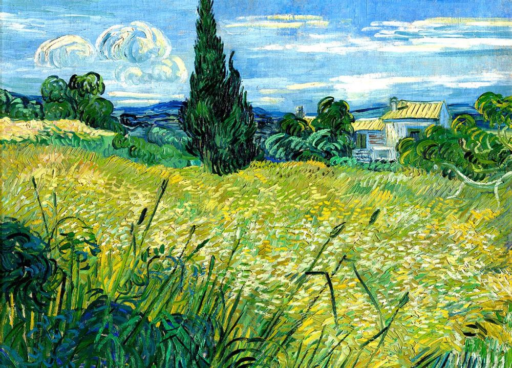 Vincent van Gogh: Green Wheat, 1889
