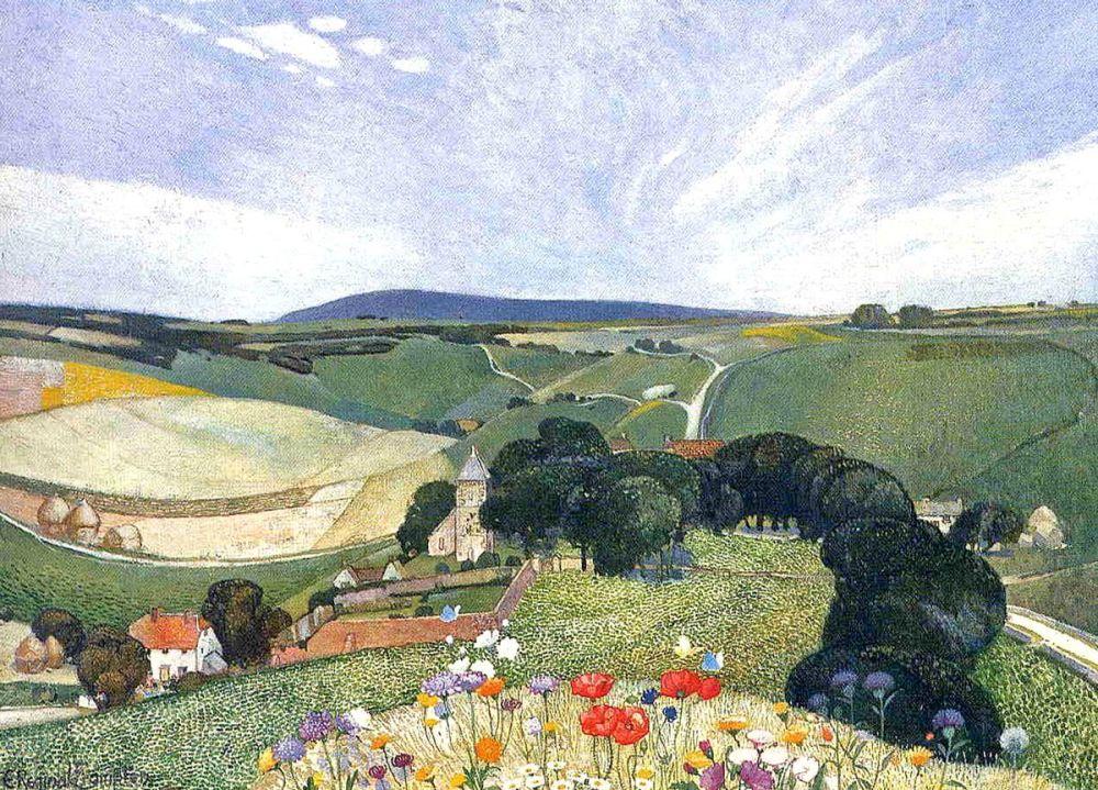Edward Reginald Frampton: Spring, 1911 (detail)