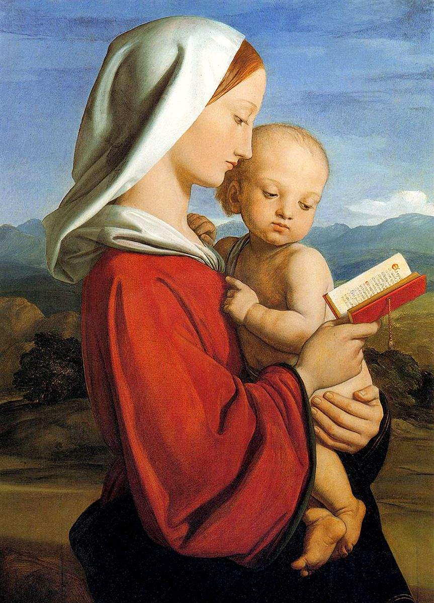 William Dyce: The Virgin and Child, 1845