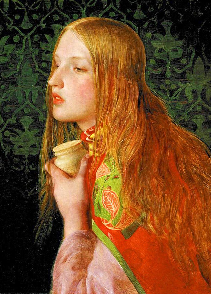 Frederick Sandys: Mary Magdalene, 1859