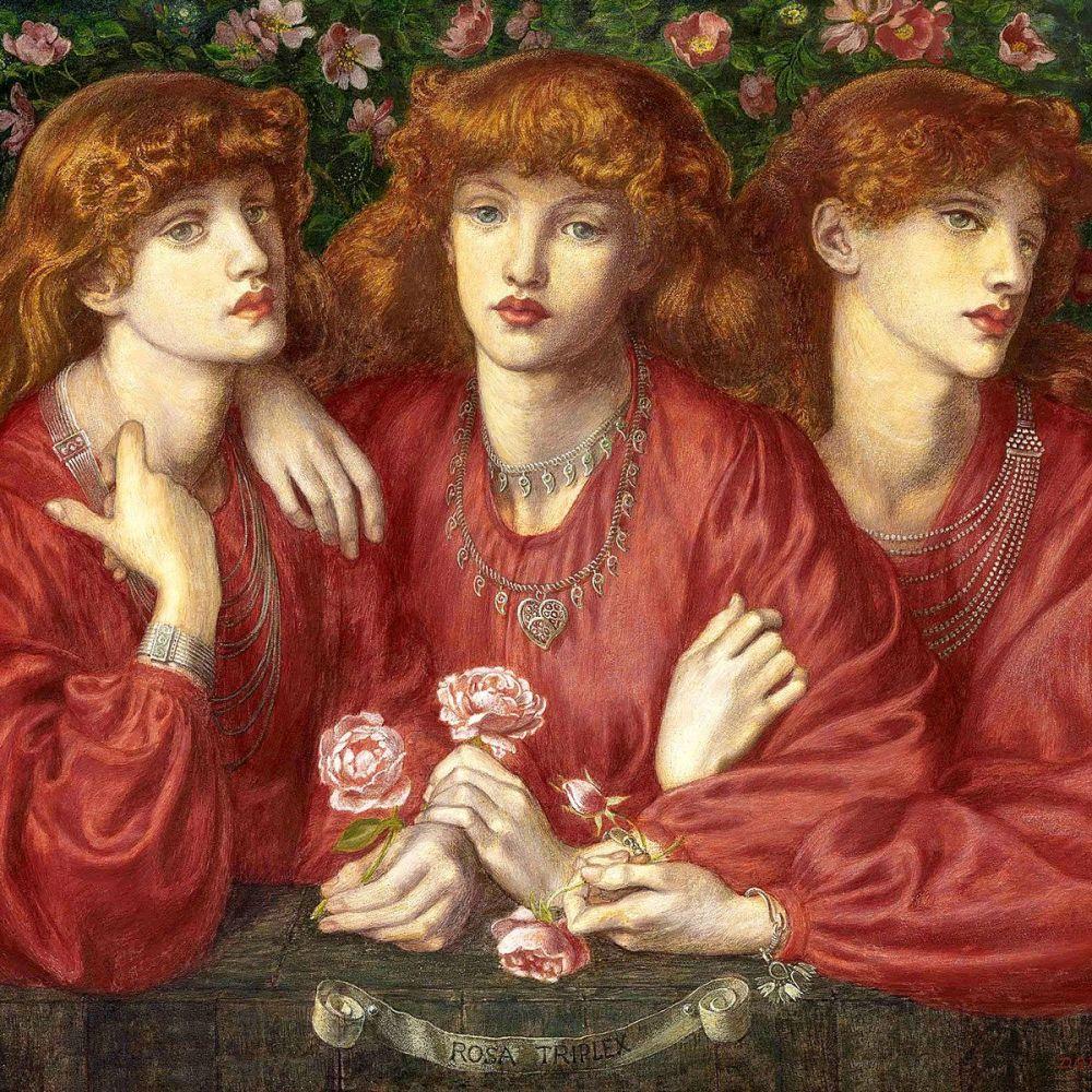 Dante Gabriel Rossetti: Rosa Triplex, 1874