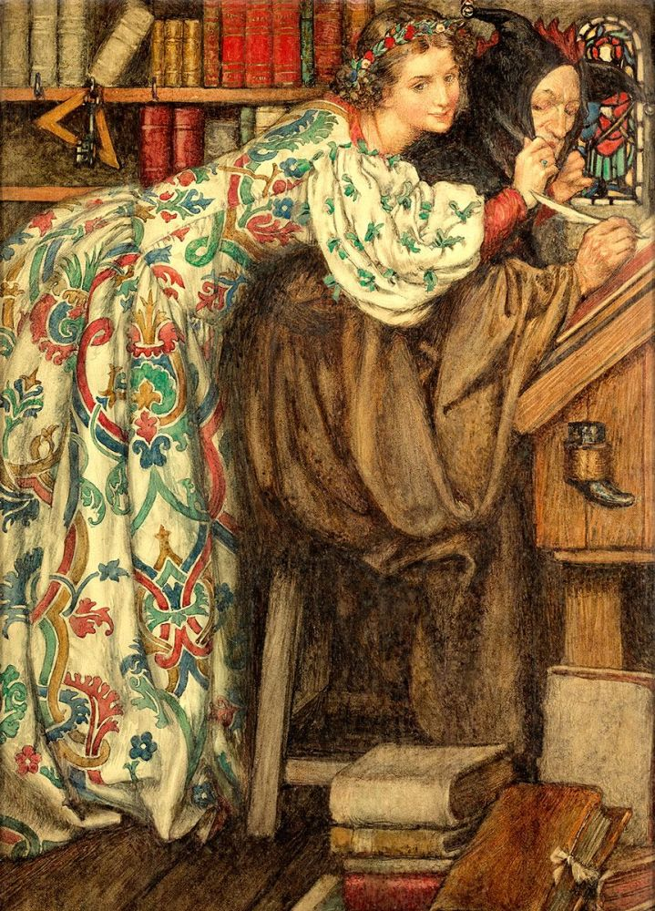 Eleanor Fortescue Brickdale: The Cap that Fits