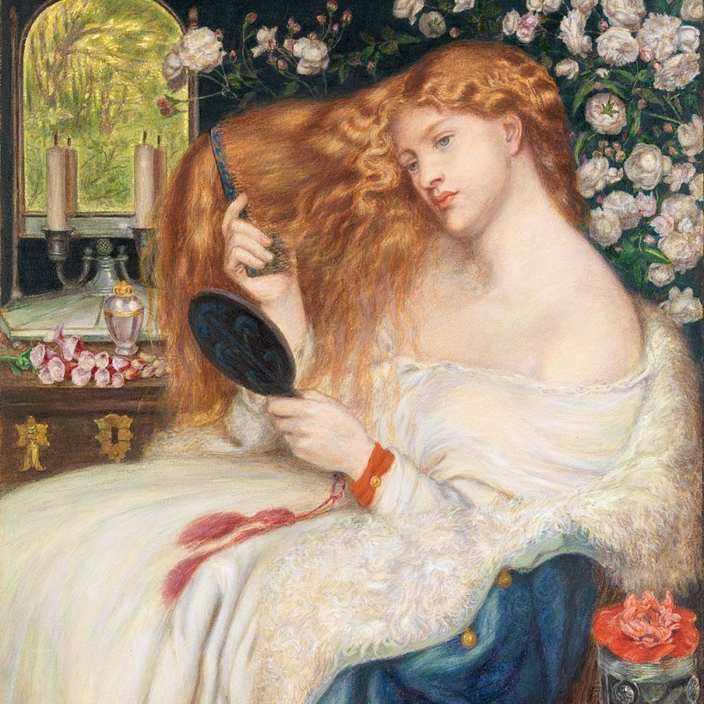 Dante Gabriel Rossetti: Lady Lilith, 1867