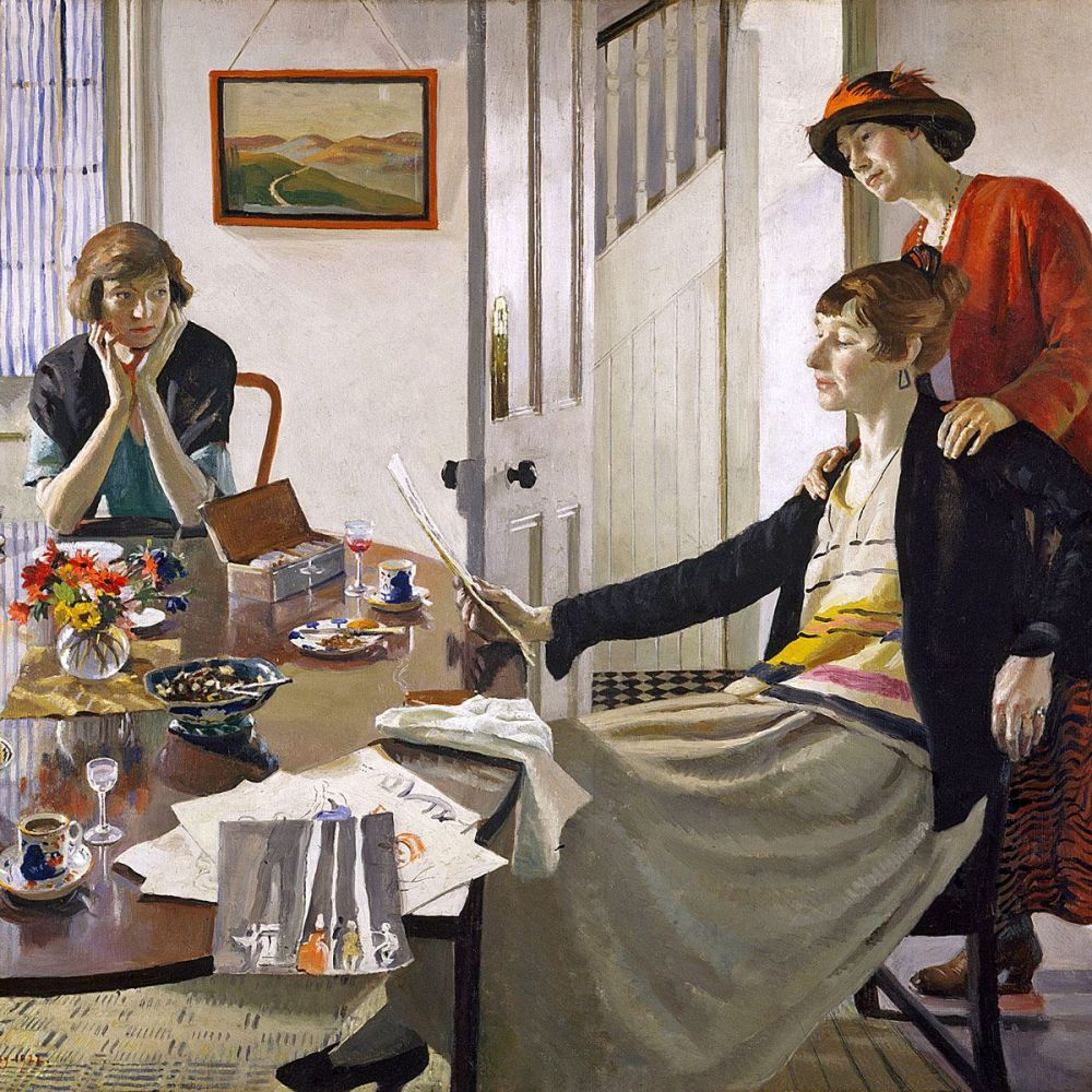 Harold Harvey: The Critics, 1922