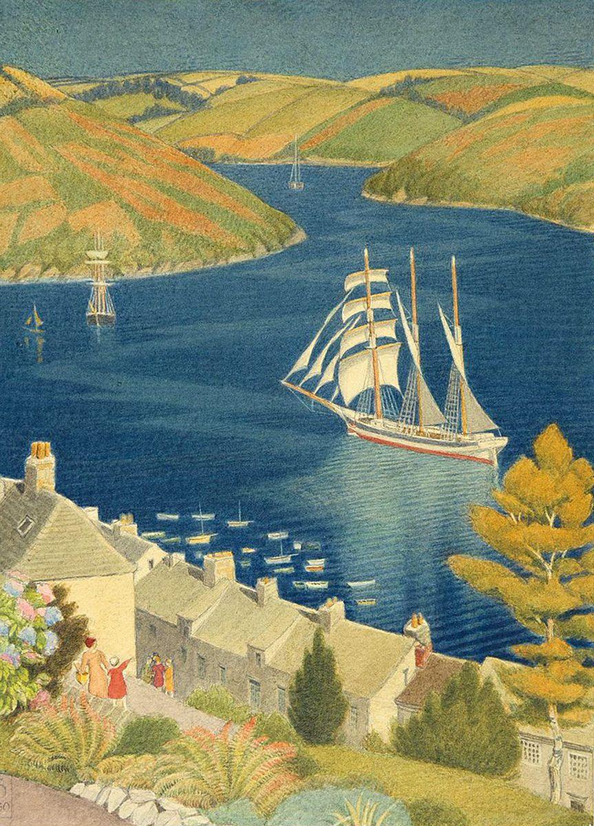 Joseph Edward Southall: Cornish Haven