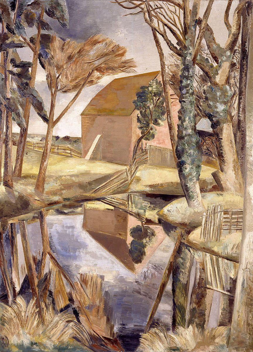 Paul Nash: Oxenbridge Pond, 1927-28