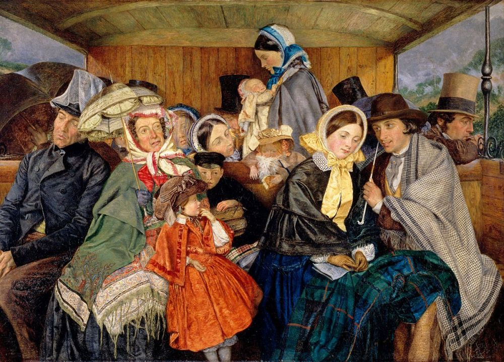 Charles Rossiter: To Brighton and Back for Three and Sixpence, 1859