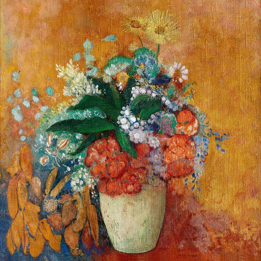 Odilon Redon: Vase of Flowers, 1905