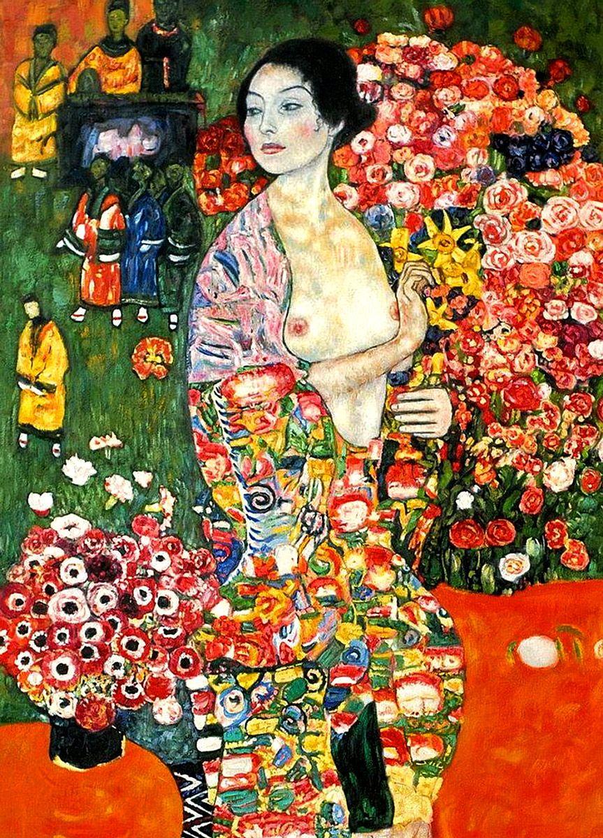 Gustav Klimt: The Dancer