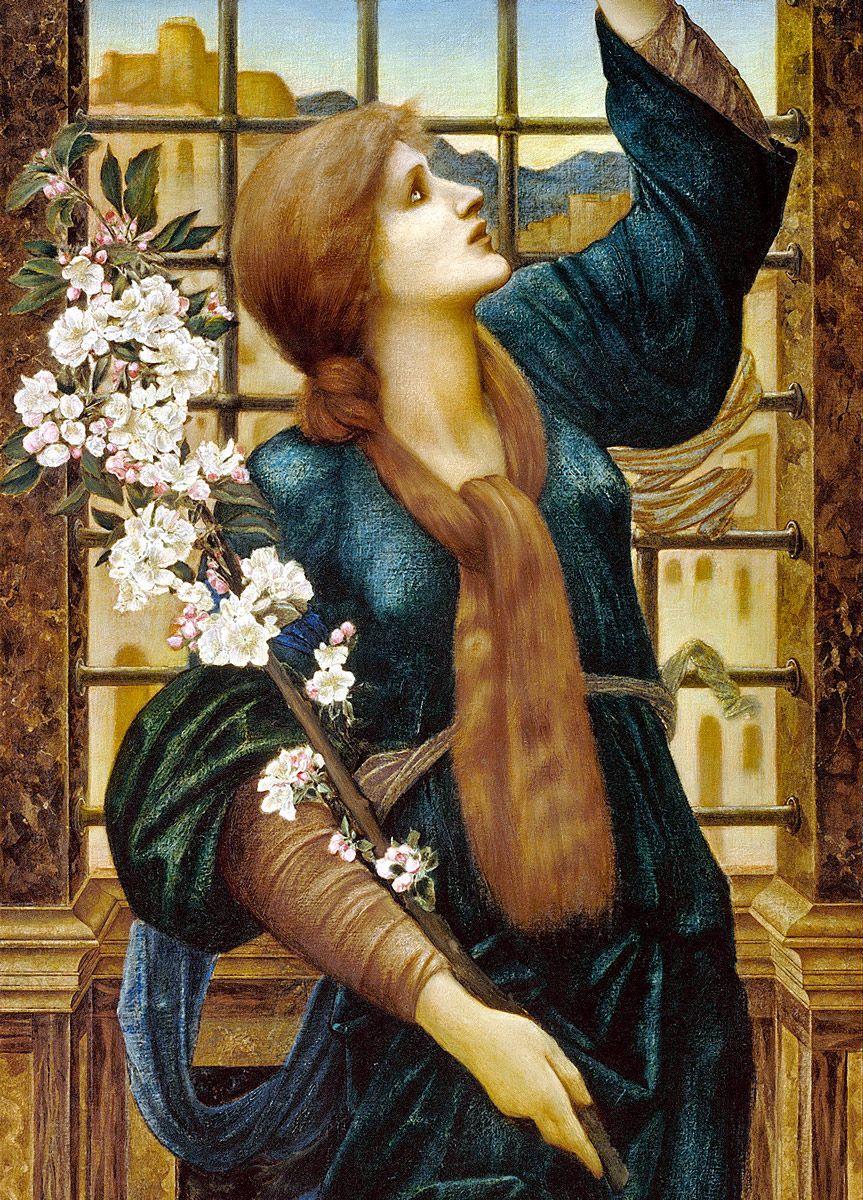Edward Burne-Jones: Hope, 1896 (detail)