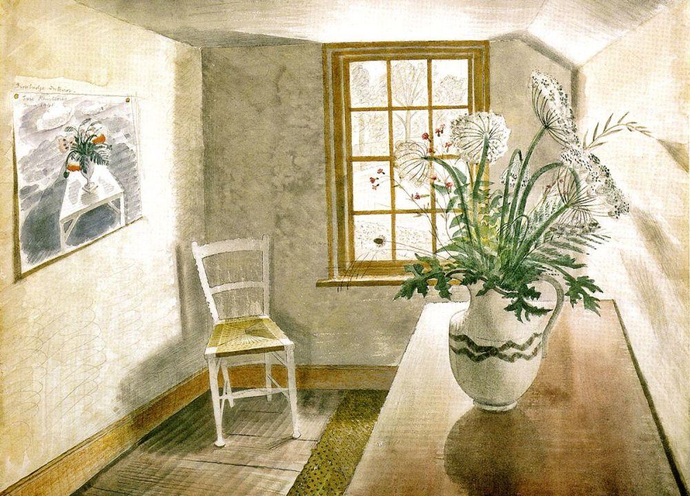 Eric Ravilious: Ironbridge Interior, 1941