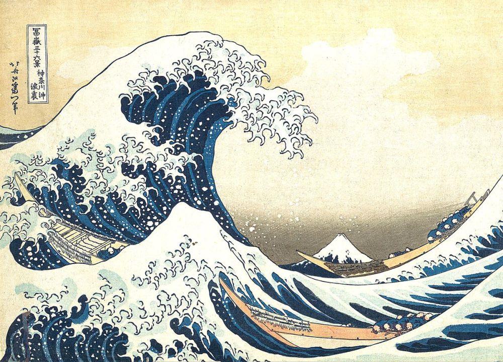 Katsushika Hokusai: Under the Wave off Kanagawa, 1830-32