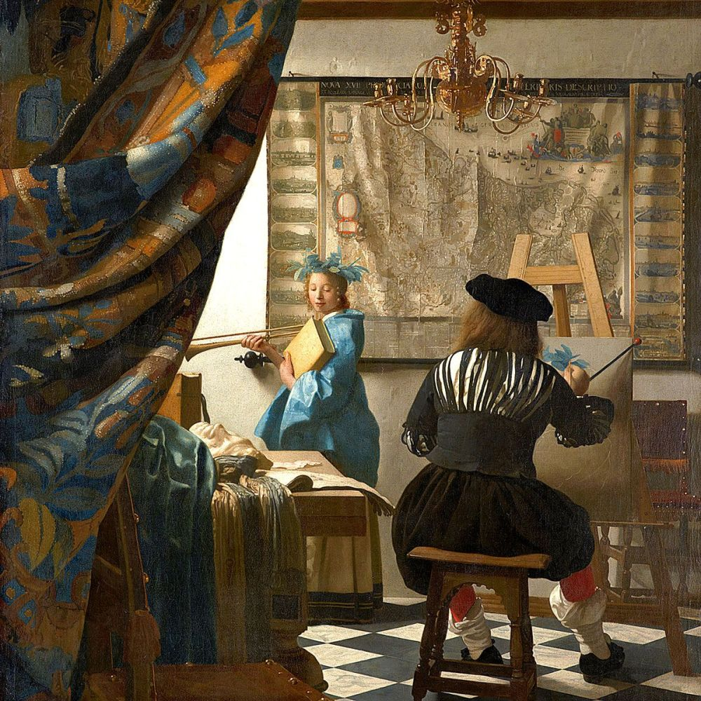 Johannes Vermeer: The Art of Painting (1666-1668)