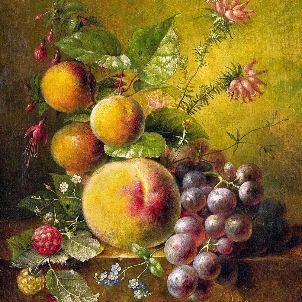 Willem Hekking: Still Life with Fruit