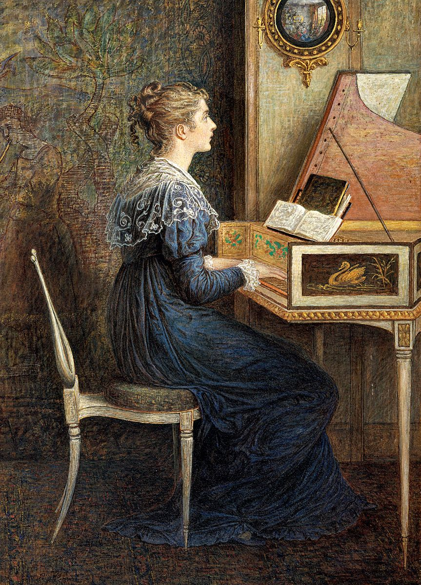 William John Hennessy: An Old Song, 1874