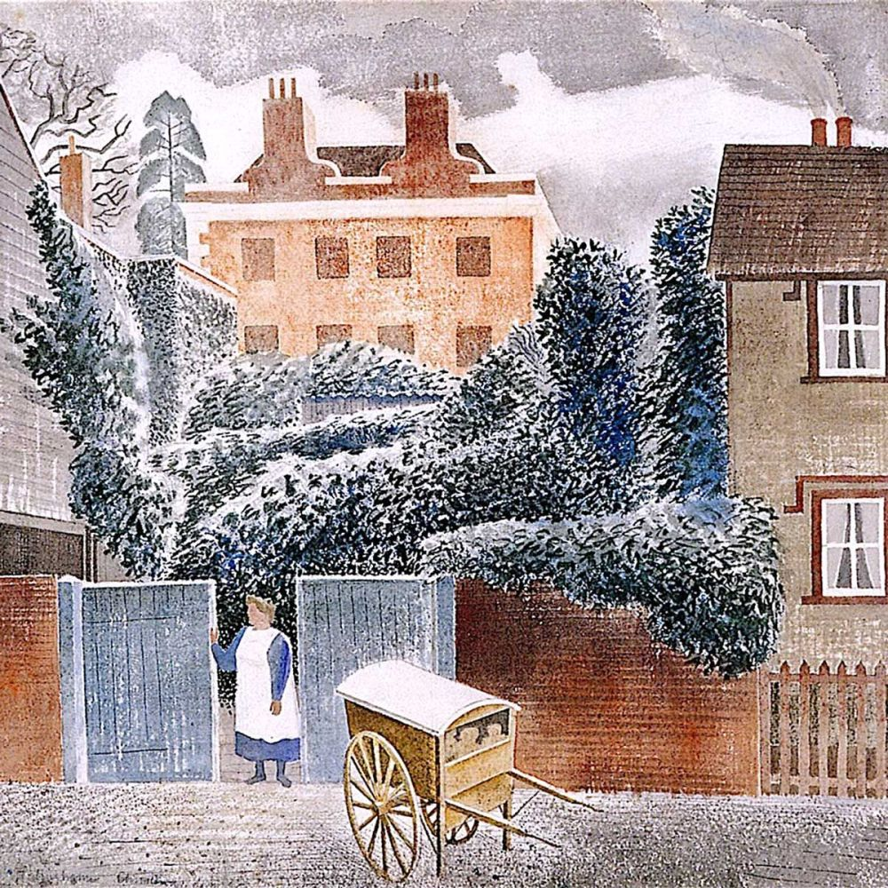 Eric Ravilious: The Vicarage, 1935