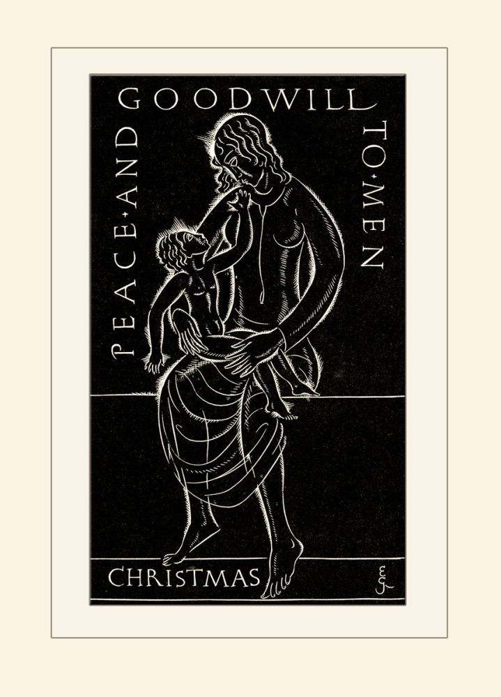 Eric Gill: Madonna and Child