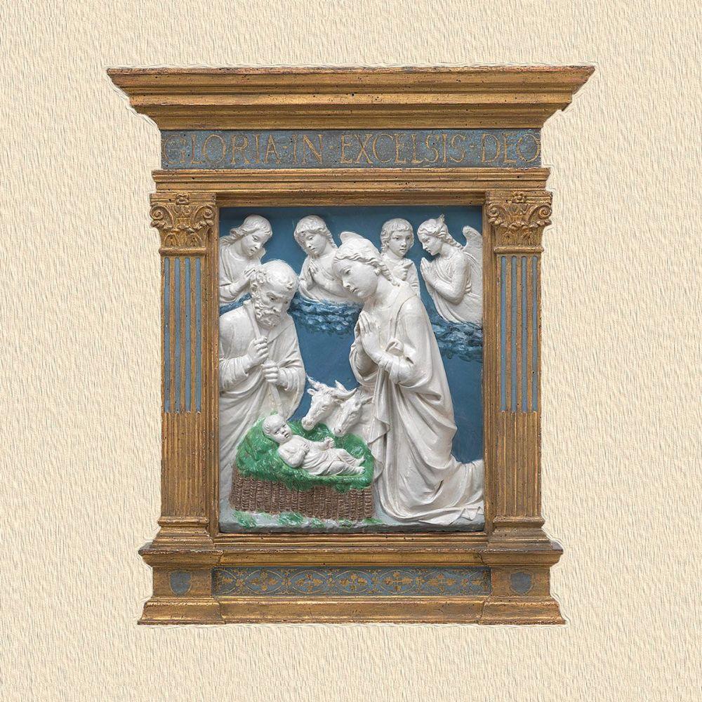 Luca della Robbia: The Nativity, c.1460