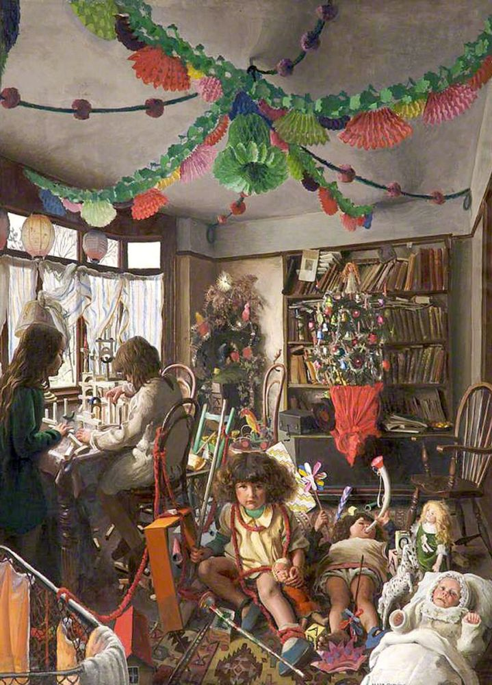 Mark Lancelot Symons: The Day after Christmas