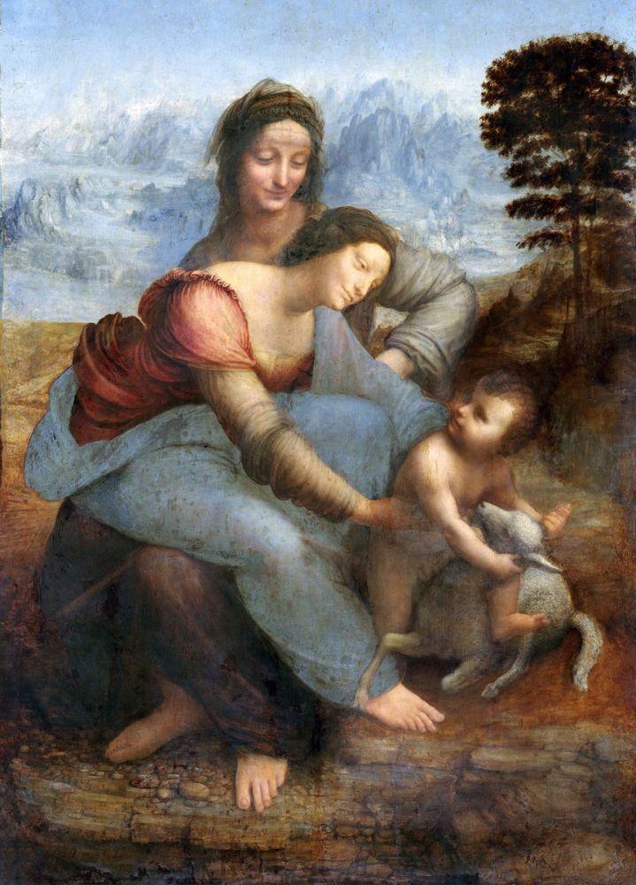 Leonardo da Vinci: The Virgin and Child with St Anne