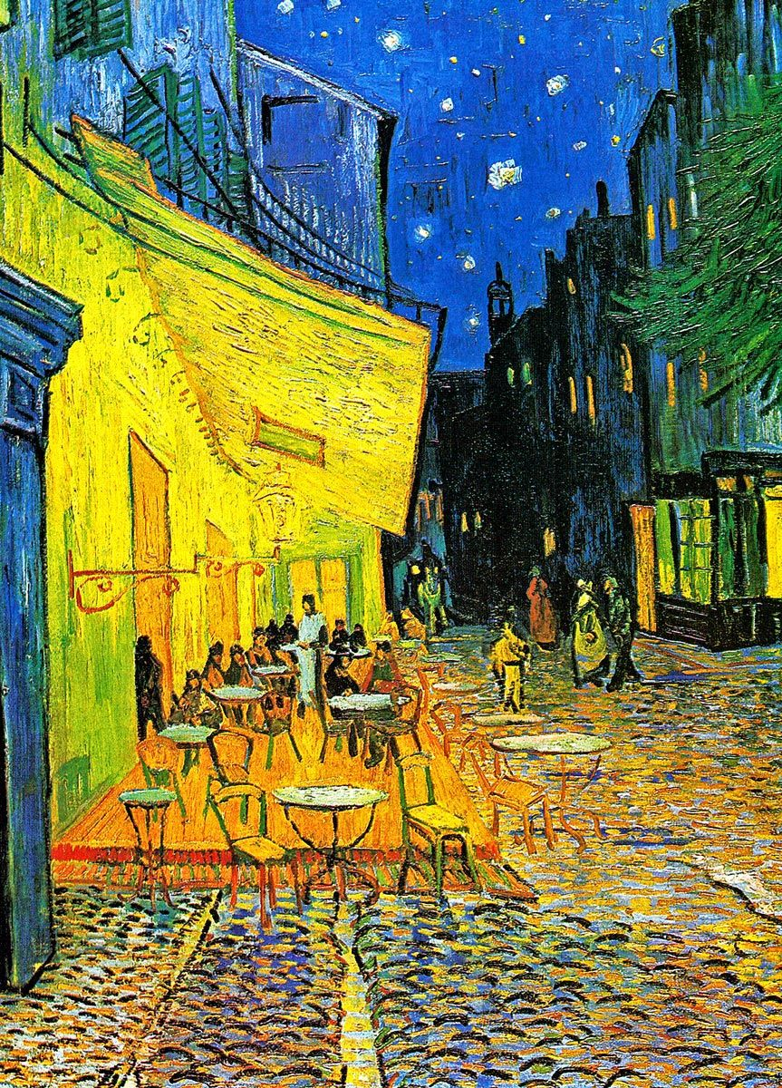 Vincent van Gogh: Café Terrace at Night, 1888