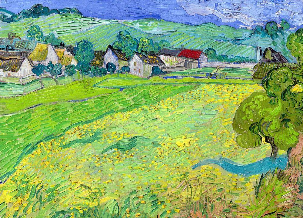 Vincent van Gogh: Les Vessenots in Auvers, 1890