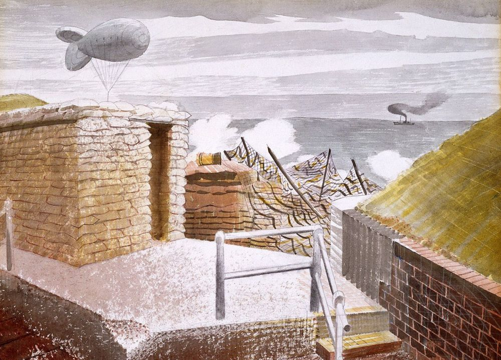 Eric Ravilious: Coastal Defences, 1941