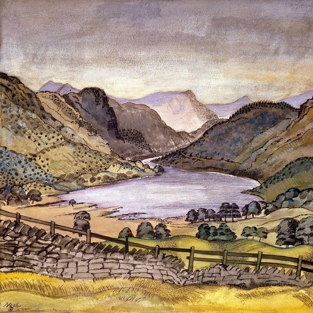 Paul Nash: Thirlmere, 1914