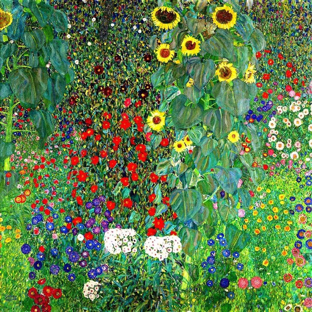 Gustav Klimt: Farm Garden with Sunflowers