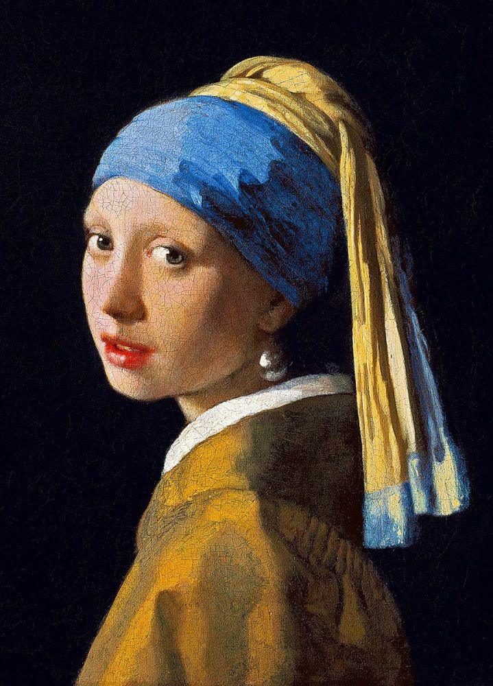 Johannes Vermeer: Girl with a Pearl Earring, 1665