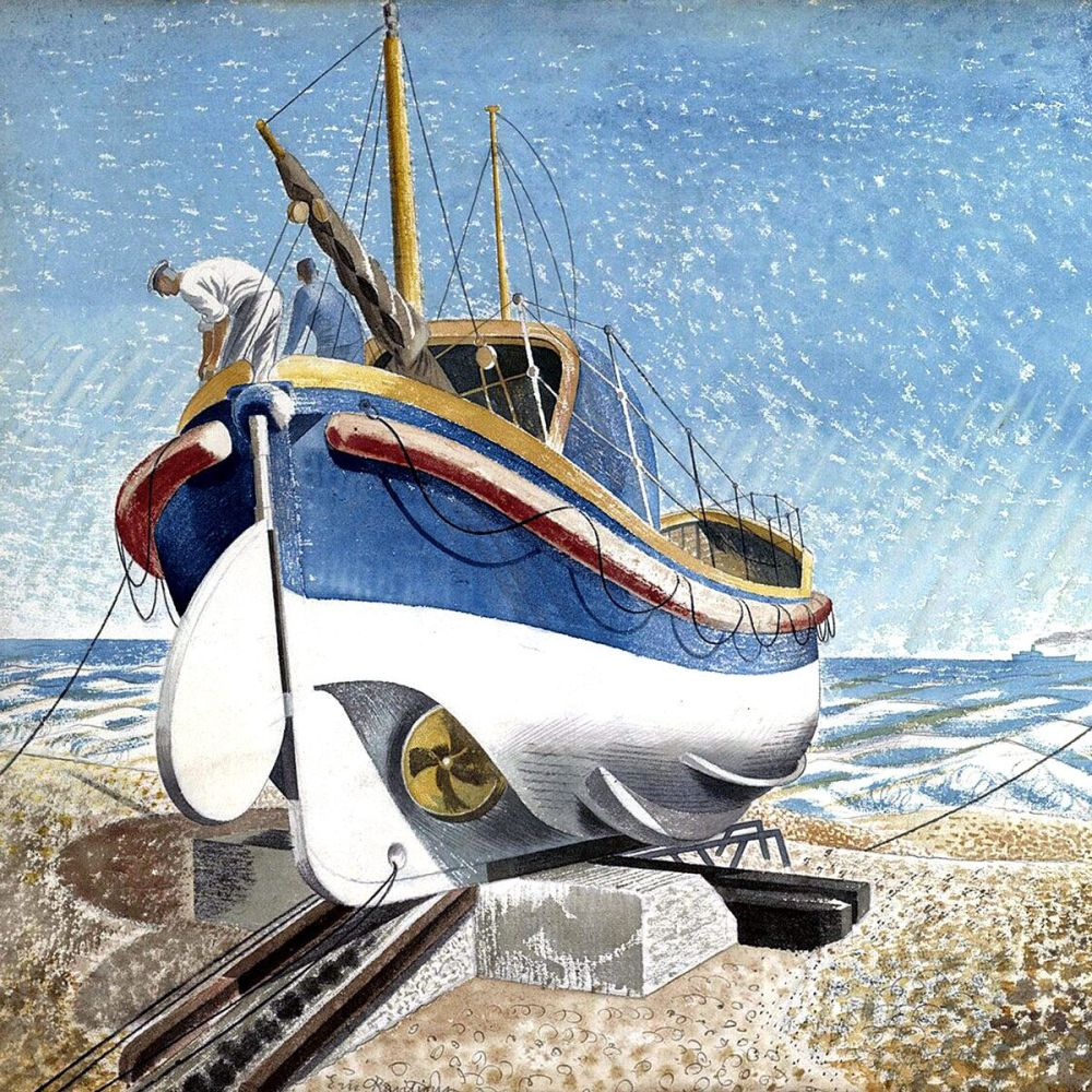 Eric Ravilious: The Lifeboat