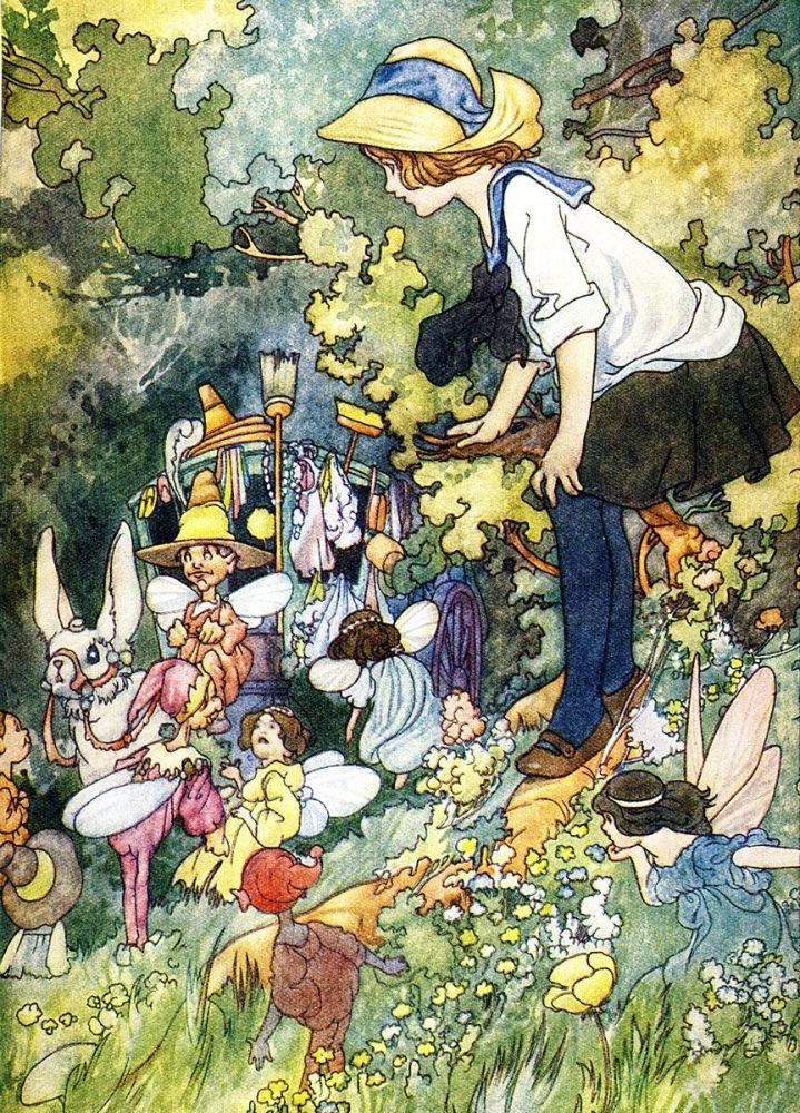 Charles Robinson: Among Fairies