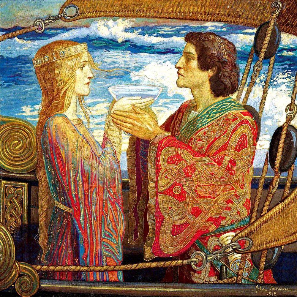 John Duncan: Tristan and Isolde, 1912