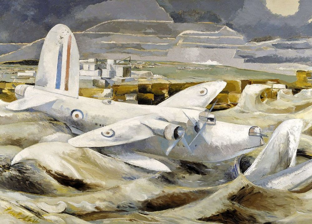 Paul Nash: Defence of Albion, 1942