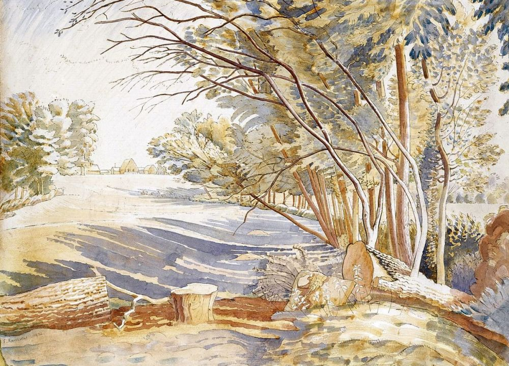 Eric Ravilious: Afternoon in the Field, 1932