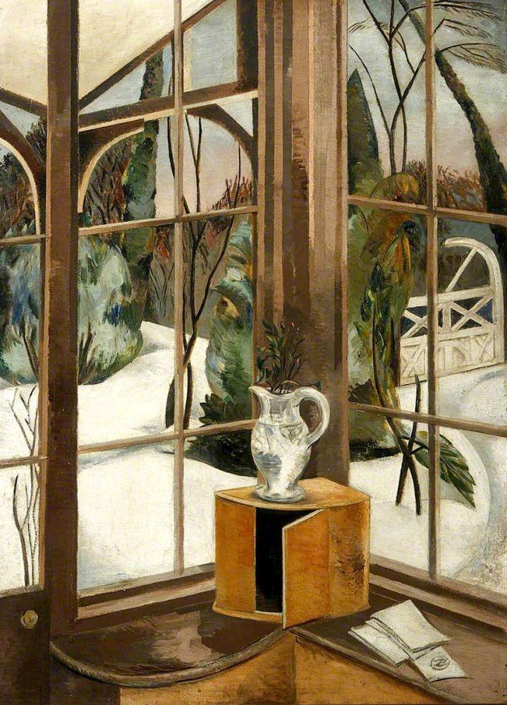 Paul Nash: The Window, Iver Heath, 1926