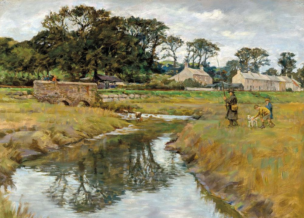 Stanhope Alexander Forbes: Where the river bends, 1932