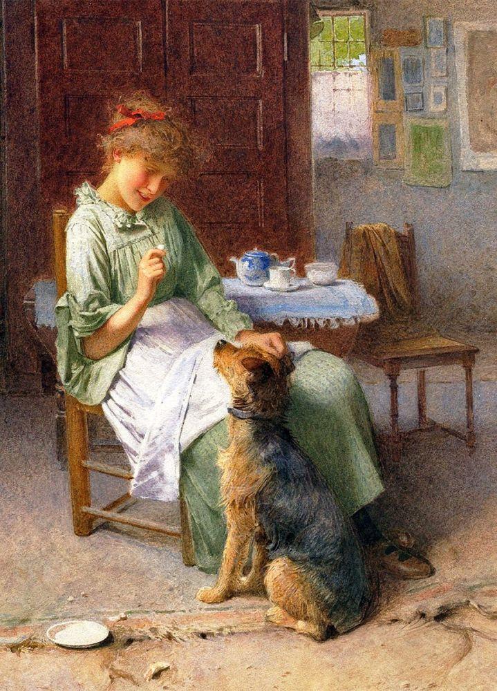 Carlton Alfred Smith: Girl with Dog