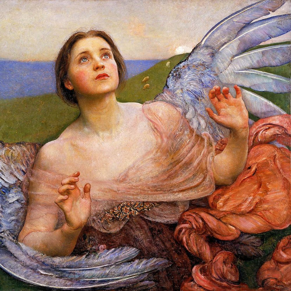 Annie Louisa Swynnerton: The Sense of Sight, 1895