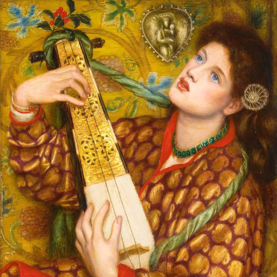 Dante Gabriel Rossetti: A Christmas Carol, 1867