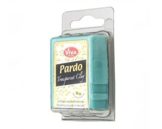 Transparent aqua Pardo