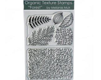 Melanie Muir Organic texture stamp Forest