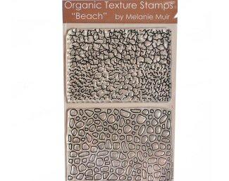 Melanie Muir Organic texture stamp Beach
