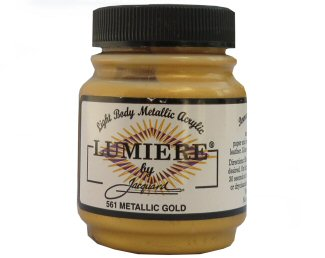 Lumiere metallic gold 561
