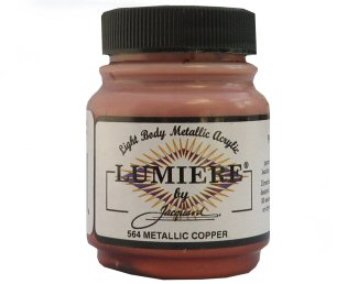 Lumiere metallic copper 564