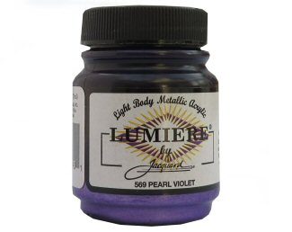 Lumiere pearl violet 569