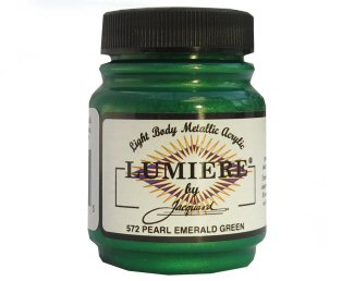 Lumiere pearlescent emerald green 572